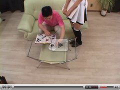 squirting Japanese Maid 1 - Uncensored