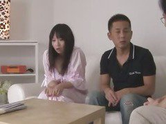 Nozomi Hazuki Begs For A Threesome And A Creampie