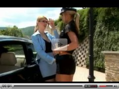 Officer Vivien And Katalin Kiraly Go Girl Girl