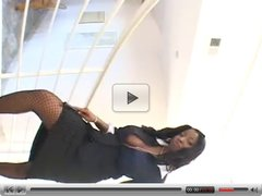 Amazing Black Lady Plays With Younger Guy...F70