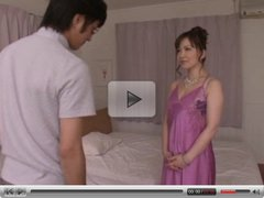 japanese hottie gets full attention