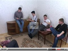 Amalia Russian MILF and 5 boys