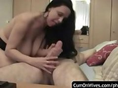 Amateur cumshot cumpilation - only real people!