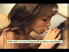 Yua Aida lovely asian gets pussy licked and does blowjob and fucking