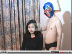 Gorgeous Chinese Girl vs Little Chinese Pro Wrestler