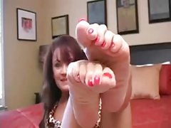 JOI at janet feet