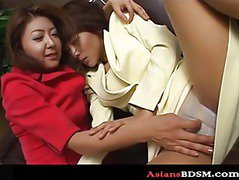 Beautiful lesbian Asian bondage p1