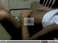 black girl humping a guy