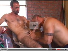 Big muscle men studs fucked anally