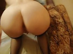 Russian girl with big boobs suck and fuck