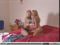 TWO INCREDIBLY HOT BLONDE LESBIANS feat. Sophie Moone