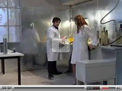 Julia Taylor in the Laboratory