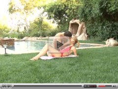 Sexy Teen Fucked By The Pool