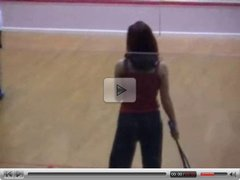 Strip sports - Squash match