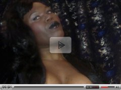 Mistress Onyx - Black Lipstick Smoking Fetish