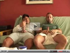 Amateur Gay - Friends Jerking Each Other Off