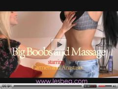 Lesbea Massage girls with huge boobs