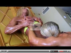 Bodybuilders lisa & Wanda Lesbian Love Part 3