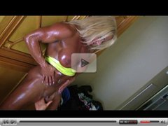 Bodybuilders Lisa & Wanda Lesbian Love Part 4
