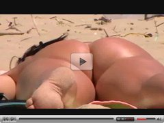 Ass and Pussy On The Beach By TROC