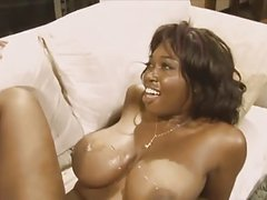 Black dick a big black boobs
