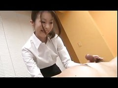 Japanese cute girls Great Hanbjob Creampied ss005
