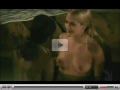 Interracial lesbian sex in the pool (from 7lives xposed)