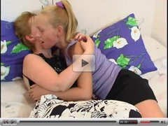 Mature Lesbian mom with Young Innocent not her daughter #3