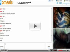 Omegle 82 (Rubbing BIG TITS for quick cumshot)