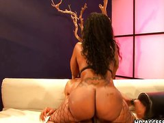 Busty ebony slut Cherokee D'ass gets