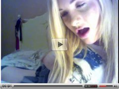 Cute Blonde On WebCam 3