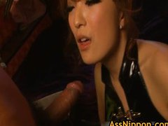 Nagai Amazing Asian girl is a dominating