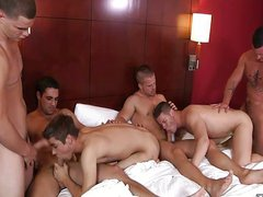 Gay Room Group Sex