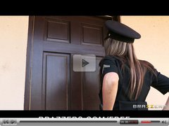 Brazzers - Big-tit cop Courtney Cummz is fucked & punished