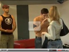 sweet young teen with perfect body auditions