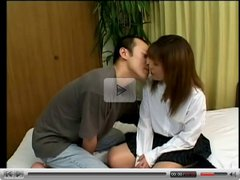 Pretty shapely young Japanese girl fucked