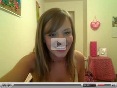 Hot young teen on webcam