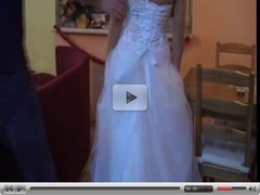 Teen in wedding dress fuck
