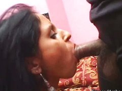 Real Indian slut gets pussy licked