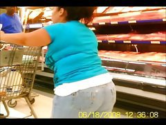 Chubby Butts in Jeans & Shorts - Public Creeper