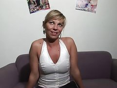Blonde French Mom Casting