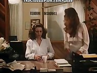 Office fuck video with vintage pornstars