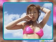 AzHotPorn.com - Japanese AV Star Outdoor Beach Sex