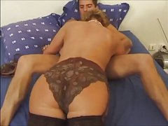 Gay sex Blond beauty Corey Jakobs gets raw and frisky with L