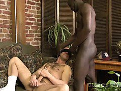 Noah Paris has a big black dick and he knows how to use it.