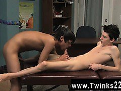 Amazing twinks The twink is enduring from a aching back so h