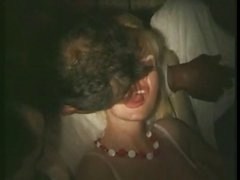 french wife touched and licked in porn cinema (80s)