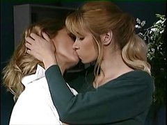Office Lesbians Dyke Out Hard - CuteBreasts