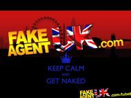 FakeAgentUK Dirty blonde bombshell makes him pay to play