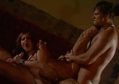 Group Sex with Vanessa Hill  in the dance club